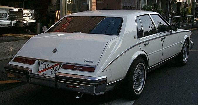 82 Cadillac Seville